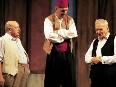 Casa de Producție TVR și TVR 1 anunță difuzarea spectacolului  Take, Ianke și Cadîr IN MEMORIAM  Marin Moraru, Radu Beligan, Gheorghe Dinică