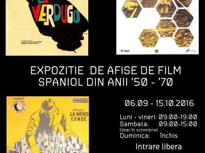 Afișe de film spaniol din anii '50 - '70 și portret de regizor LUIS GARCÍA BERLANGA