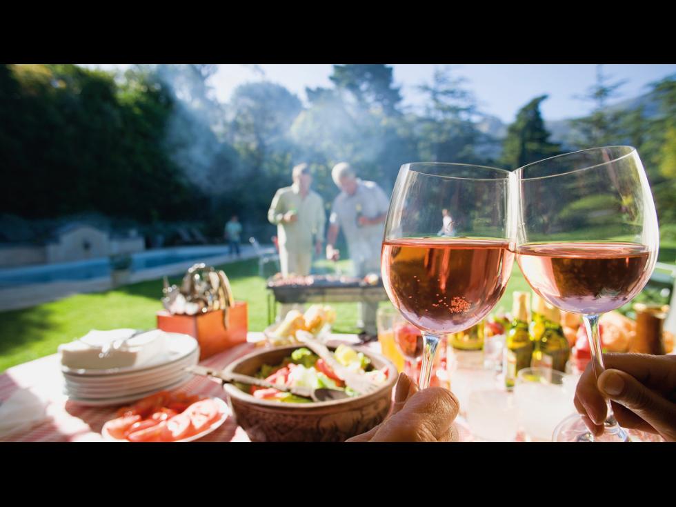 Cu vinul la grătar