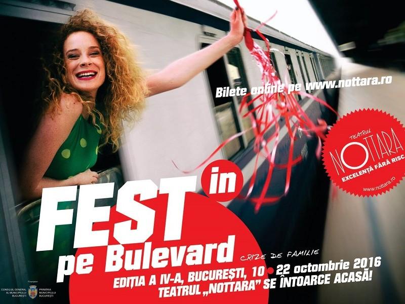 Teatrul Nottara recrutează voluntari pentru organizarea FEST(IN) pe Bulevard