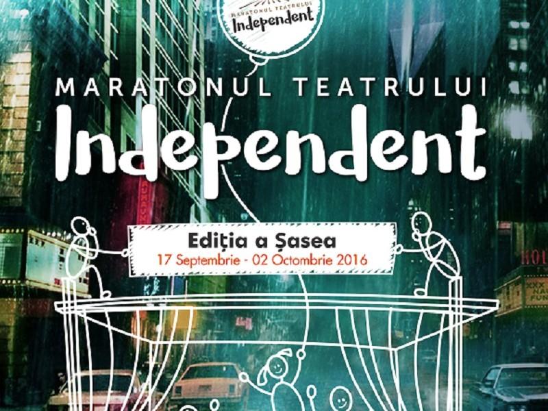 Maratonul Teatrului Independent – Bucharest Fringe Ediția a VI-a 17 septembrie – 2 octombrie 2016