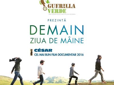 DEMAIN, cel mai bun documentar al anului, ajunge în România