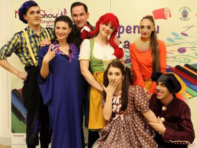 """""""Dănilă Prepeleac"""", """"Cântec pentru Tisha"""" și """"Spre Vrăjitorul din Oz"""", în stagiunea de toamnă MiniArtShow"""