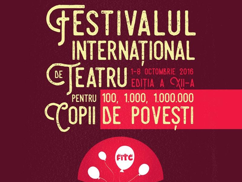 """O nouă ediție a Festivalului Internațional de Teatru pentru Copii  """"100, 1.000, 1.000.000 de povești"""", între 1 și 8 octombrie la Teatrul Ion Creangă"""