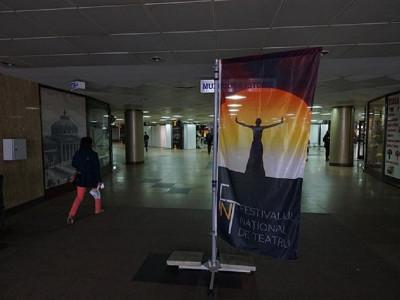 Începând de luni, Pasajul Universităţii a devenit, din nou, pentru două săptămâni, Pasajul FNT
