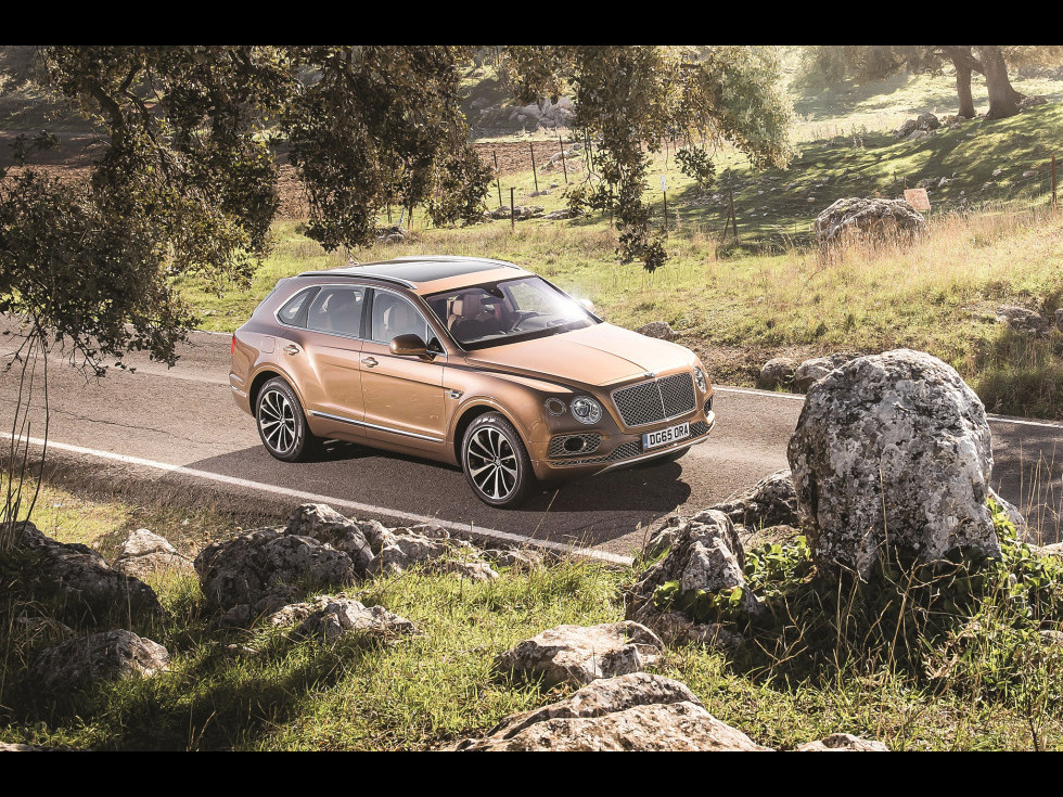 Bentley Bentayga, poate