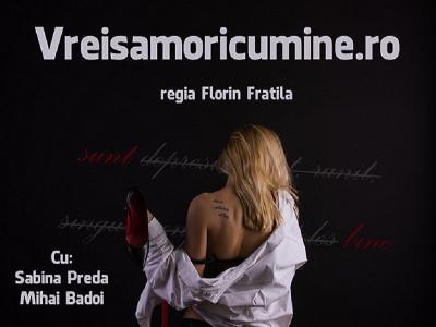 Vreisămoricumine.ro, un nou spectacol la Teatrul În Culise