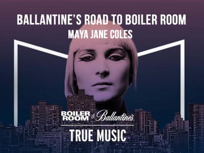 Experimentează Boiler Room alături de Ballantine's, la Madrid | Special Guest: Maya Jane Coles
