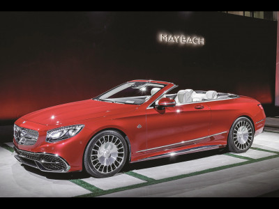 MERCEDES-MAYBACH  S650 Cabriolet.  Doar cerul e deasupra mașinii, doar cerul e deasupra preţului