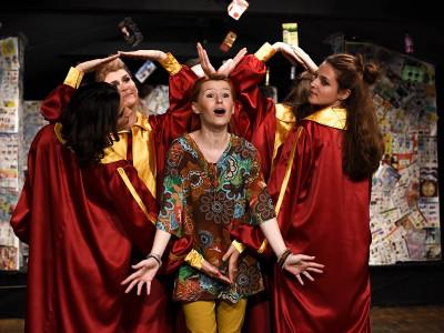 TeenMedia Academy inaugurează un SUPERMARKET teatral