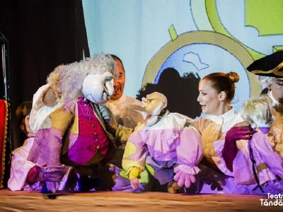 Final de an, plin de succes al Teatrului de Animație Țăndărică