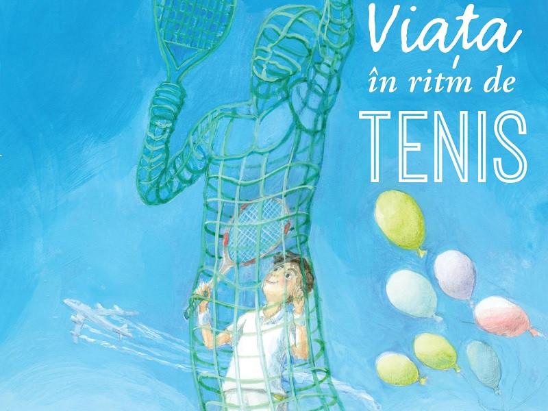 """Horia Tecău lansează cartea pentru copii """"Viața în ritm de tenis"""""""