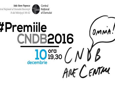 CNDB și-a desemnat laureații pentru anul 2016