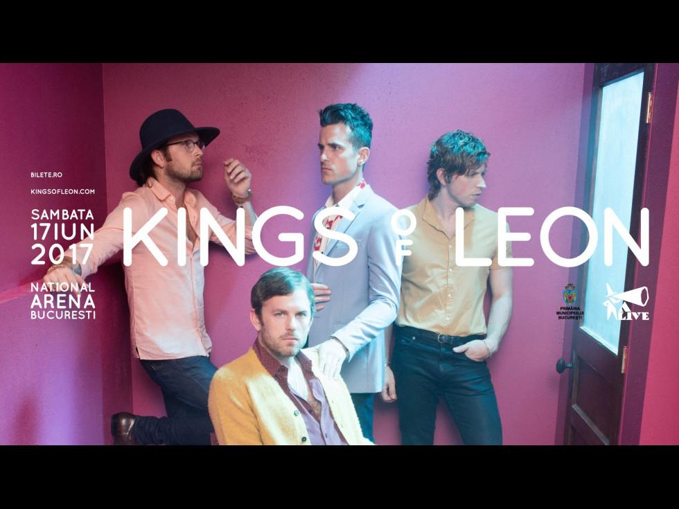 Trupa Kings of Leon va susține primul concert în România, în iunie