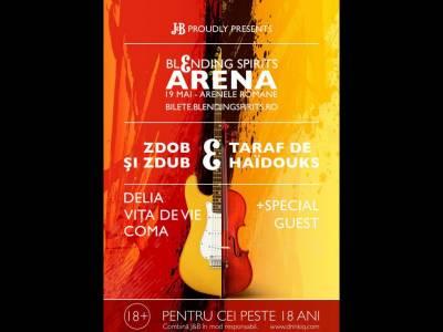 J&B Blending Spirits Arena aduce pe aceeași scenă artiști populari și underground