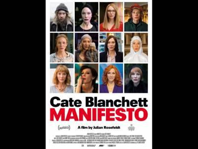 Cate Blanchett interpretează 13 roluri în filmul-eveniment Manifesto la BIEFF