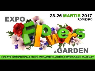 Cum îți decorezi grădina în 2017-2018? Află la Expo Flowers & Garden, între 23 și 26 martie
