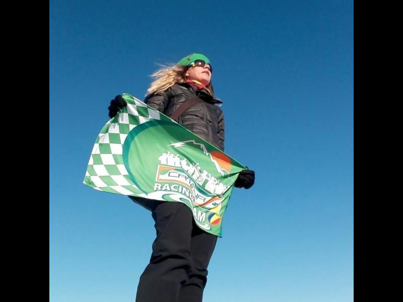 Simona Dumitrescu, prima femeie din România la Maratonul Polului Nord, a cucerit locul secund