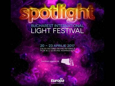 Începe ediția a 3-a a Festivalului Internațional de video mapping Spotlight