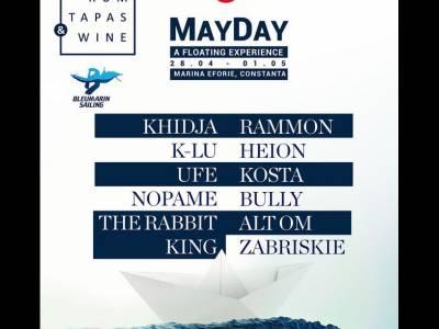 May Day, 3 zile de party-uri pe bărcile și plaja din Marina Eforie