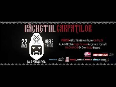 Sâmbăta aceasta, Răcnetul Carpaților aduce pe scenă cele mai bune formații de hip-hop românesc