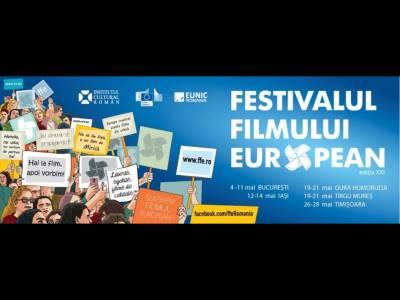 Festivalul Filmului European, un reper cultural al lunii mai