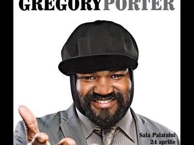 Vocea jazz-ului mondial, Gregory Porter, va susține în această seară primul concert în România