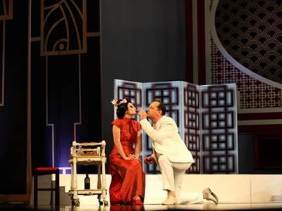 Al doilea spectacol de premieră cu opereta ''Victoria și-al ei hussar''