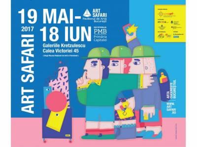 Câștigă unul dintre cele 7 bilete cu acces de o zi la Art Safari 2017
