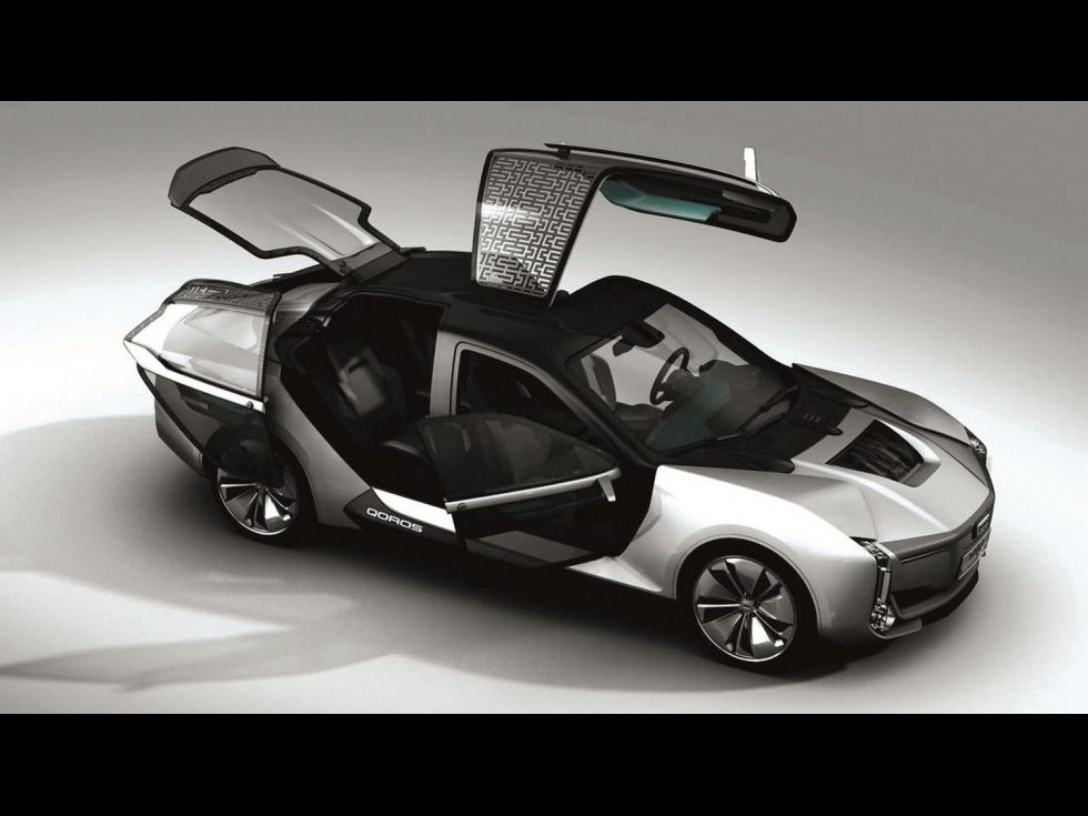 Qoros K-EV, un model auto chinezo-israeliano- suedez