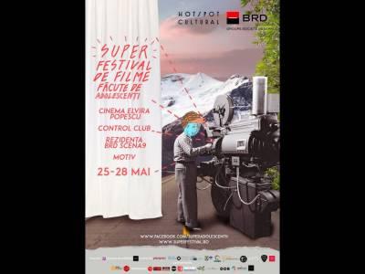 Festivalul SUPER, ediţia a 5-a:  Armata de regizori adolescenţi în sala de cinema