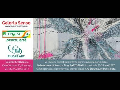 Galeria Senso promovează și sprijină arta la Târgul Art Safari 2017, aflat la cea de-a IV-a ediție