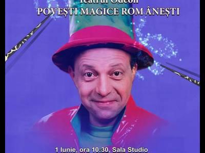 Super-magicianul Râlea va fi prezent de 1 iunie la Odeon!