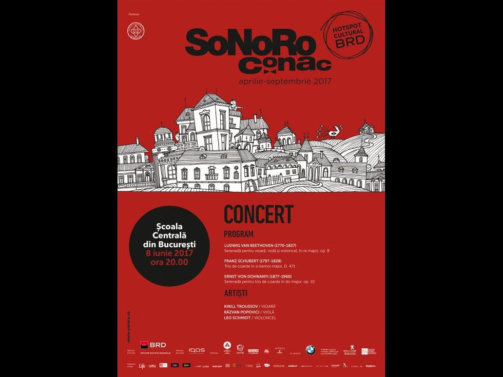 Tur de forță cu partiturile lui Schubert, Beethoven și Von Dohnanyi