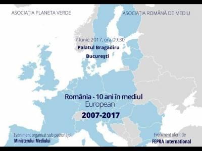 România - 10 ani în mediul European
