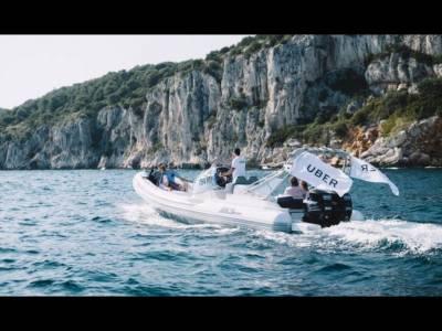 Noul mod de transfer între insulele Croației. Barca UBER