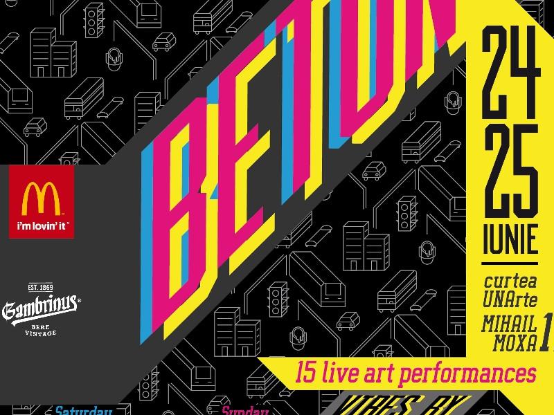 Să faci artă e cool la Beton Street Art Festival