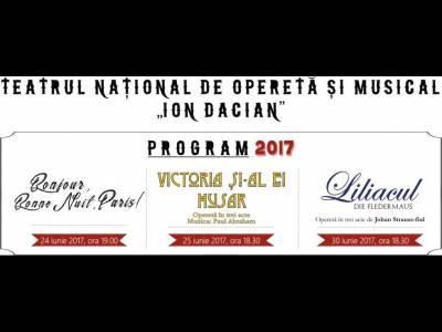 Final de stagiune la Teatrul de Operetă și Musical Ion Dacian
