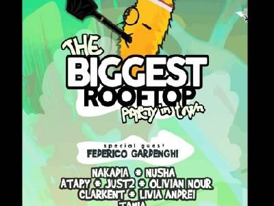 Cel mai mare rooftop party din România se ține în București