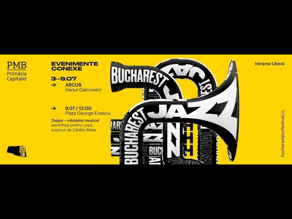 Încep concertele în aer liber ale Bucharest Jazz Festival