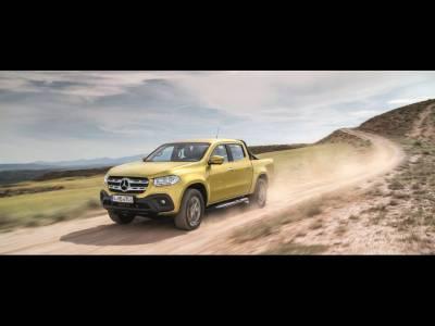 Mercedes vine cu X Class, un pick-up pentru agricultori gospodari