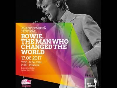 Ultimul documentar despre Bowie proiectat la București