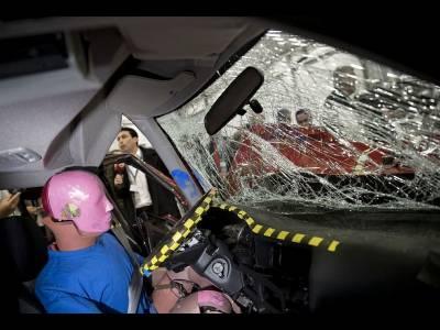 Mașinile mici, cele mai riscante în cazul unui accident