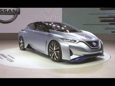 Nissan Leaf, electrice câtă frunză și iarbă