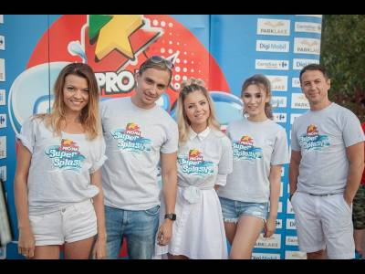 ProFM Super Splash, prima bătaie cu baloane cu apă