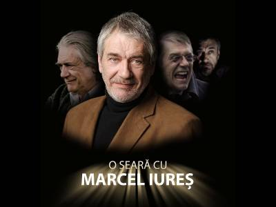 O seară cu Marcel Iureș la Grand Cinema & More
