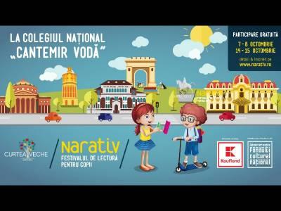 Festivalul de lectură pentru copii unde cititul e plăcere!