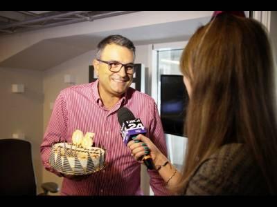 Lucian Mîndruță sărbătorit în direct la Digi FM