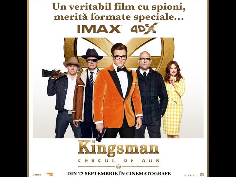 Noul Kingsman, blockbusterul toamnei