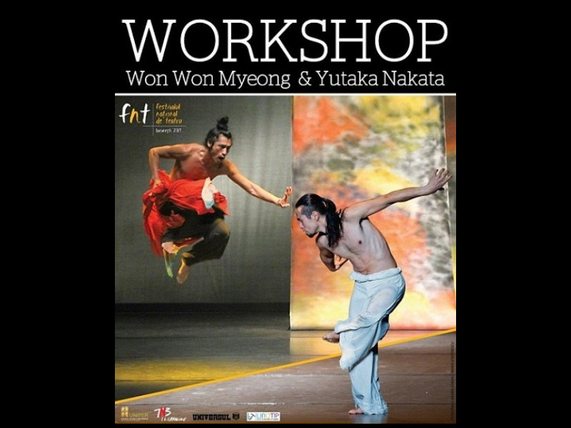 Workshop de dans contemporan în cadrul FNT